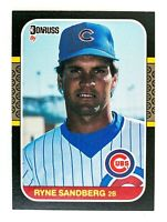 Ryne Sandberg #77 (1987 Donruss) Baseball Card, Chicago Cubs, HOF