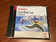 Adobe Acrobat 6.0 Standard CD with Serial - Full Version for Windows