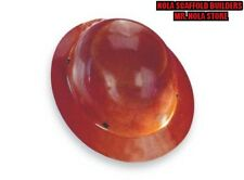 HARD HAT, FULLBRIM, NONSLOTTED, NATURAL TAN A1A
