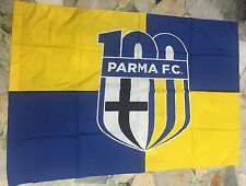 1 BANDIERA PARMA UFFICIALE FC PARMA POLIESTERE 100% 140x100cm DUCALI