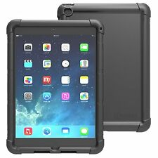 Poetic [TurtleSkin] Robust Shockproof silicone Cover For Apple iPad Air 2  Black