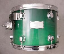 MAPEX SATURN 12x9 EMERALD STARDUST LACQUER MOUNTED TOM DRUM
