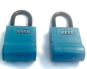 NEW ShurLok Real Estate Lock Box - Key Storage Realtor Lockbox (lot of 2)