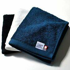 Imabari Hand Towel 3pcs set Cotton 100% 31 x 35cm Navy Made in Japan F/S wTrack#