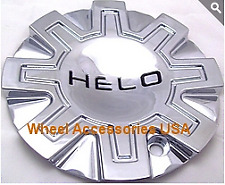"Helo 870 Wheel Center Cap 491L155 NEW Chrome Rim Middle (1) 6"" diameter w/ bolt"