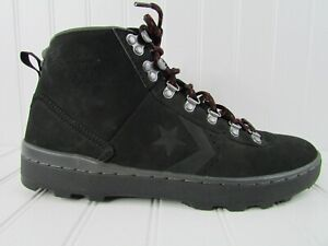 Converse Pro Leather Arctic Mid In Black 139904C Mens 8.5 Womens 10