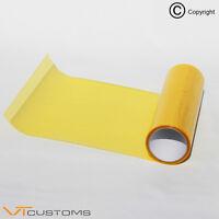 30 x 50cm Golden Yellow Headlight Tint Film Fog Tail Lights Tinting Car Wrap