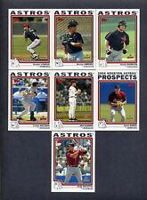 2004 Topps Traded Houston Astros TEAM SET - MINT