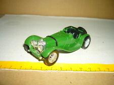 SOLIDO Jaguar SS 100 1938, grün, 4002, 1-43, 09-20 Zustand / Condition: 2/3 f-4,