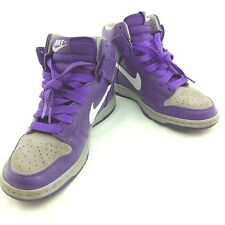 Nike womens Dunk High Skinny 386316-511 Size UK 5, EUR 38.5 Purple