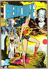Hercule Album 3 VF+ Rare Wonder Woman Cover, 166 Page Giant (1984) France