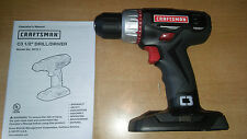 """*NEW* CRAFTSMAN C3 19.2v VOLT LITHIUM-ION COMPACT 1/2"""" CORDLESS DRILL 5275.1"""