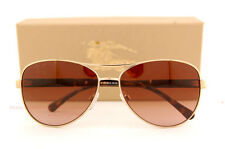 bea7691dbaa9 Brand New Burberry Sunglasses BE 3080 1145 13 Gold Gradient Brown For Women