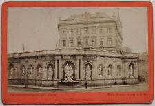 Original 1880er Jahre Kab.Karte Wien, Albrechtsbrunnen, Albuminabzug