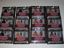 Walking Dead MiniMates Series 3 Mixed Lot of 12 Prison Hershel Tyreese Zombie