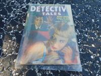 FEB 1952 DETECTIVE TALES pulp magazine GGA COVER