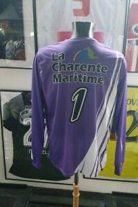 Maillot jersey shirt coupe france porté worn district charente maritime gardien