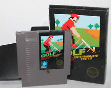 Nintendo NES Black Box Golf  Boxed Video Game