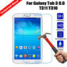 Real Tempered Glass Screen Protector For Samsung Note 7.0  8.0 10.1/Tab 3/ Tab 4