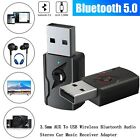 4 In 1 Bluetooth 5.0 Audio Transmitter Receiver 3.5mm Aux RCA Audio Adapter HG