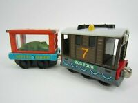 Zoo Tour Toby & Crocodile Special - Thomas Train Diecast Free Shipping