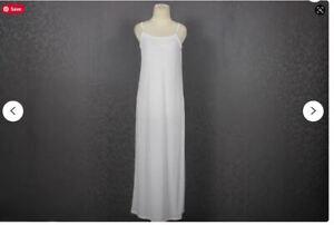 Woman Sleeveless Sleepwear Nightwear Georgette Undergarment casual Night Gown's
