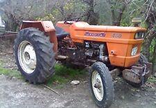 Fiat 480, 500, 540,640 Tractors Workshop Manual