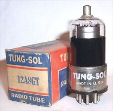 NEW IN BOX TUNG-SOL 12A8GT FREQUENCY CHANGER TUBE / VALVE