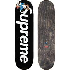 Supreme x Smurfs Skateboard Deck Black (FW20) 100% Authetic PRE-SALE
