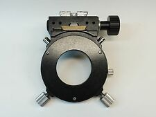 Nikon Microscope Condenser Holder Excellent Condition