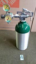 M9 Medical Oxygen Cylinder Tank Empty With Oxygen Regulator 4