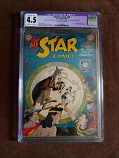 ALL STAR COMICS 48 CGC 4.5 RESTORED