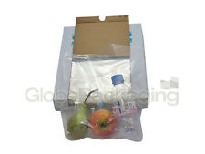 """100 x HEAVY DUTY 12x18"""" CLEAR POLYTHENE FOOD USE APPROVED BAGS *200 GAUGE* FAST"""