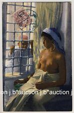 LEHNERT & LANDROCK #23 HAREM GIRL * Vintage 1910s Ethnic Nude PC