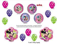 PINK MINNIE MOUSE ORBZ HAPPY BIRTHDAY PARTY BALLOONS Decorations Supplies DOTS