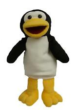 Penguin Puppet Ventriloquist.Toy,Play.Educational with a moving mouth