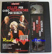 film VHS KILLER PER CASO TRUFFATORE PER SCELTA L'ESPRESSO CARTONATA (F21) no dvd
