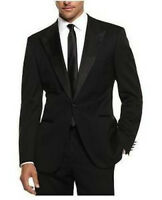 Men's Hugo Boss Black Tuxedo Suit 2 Pc Cary/Grant Super 100  NWT Wool & Silk