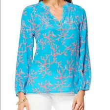 e73fc71c09031e Lilly Pulitzer Silk Blouses for Women for sale | eBay