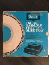 Vintage Sears Pro- Am Easi-Load Circular Slide Tray
