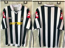 Juventus 2001/02 Home Soccer Jersey Large Lotto Serie A