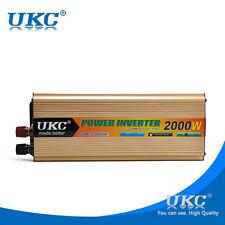 2000W Modified Sine Wave Power Inverter DC 12V to AC 220V Adapter Converter USB