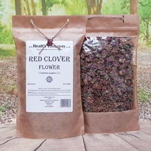 Red Clover Flower ( Trifolium pratense ) Health Embassy 100% Natural