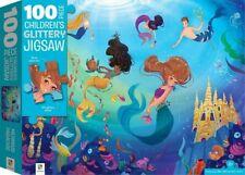 100 Piece Children Jigsaw With Treatments Mermaids