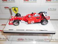 HOT WHEELS F1 MODIFICATA FERRARI F2005 #2 BARRICHELLO GP S.MARINO'05 NO BOX 1:43