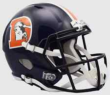 DENVER BRONCOS Riddell SPEED Full Size Replica Football Helmet 2016 COLOR RUSH