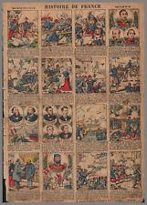 imagerie NOUVELLE VAGNé HISTOIRE de FRANCE PL  22  28x39cm