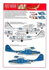 Kits World Decals 1/48 OA-10A PBY-5 CATALINA Miss Pick Up & Wanderin' Witch