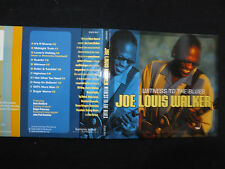 RARE CD JOE LOUIS WALKER / WITNESS TO THE BLUES /