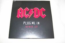 AC/DC Plug Me In PROMO CARDSLEEVE CD SINGLE Dog Eat Dog & Black In Black LIVE
